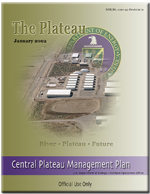 Pnnl staff highlights central plateau management plan for Plateau report designer
