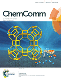 ChemComm Cover Features Radha Motkuri's Research