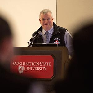 WSU Alumni Eric Nyberg Delivers Keynote in Pullman