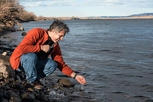 George Bonheyo leads PNNL's biofouling research