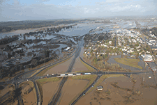Commercial and personal travel between Seattle and Portland came to a screeching halt in December 2007 when parts of Interstate 5 were submerged by flooding.