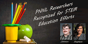 Two PNNL Staff Go Beyond the Office Walls to Help Students Excel