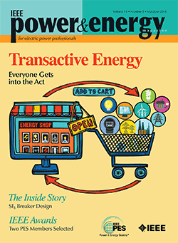 IEEE Power & Energy Magazine's May/June cover