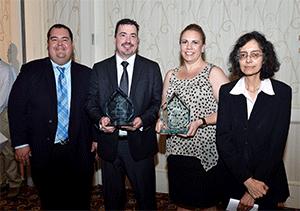 Nick Barilo Earns Annual Merit Review Award