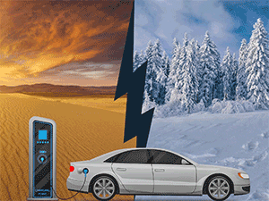 Scientists Widen the Temperature Range for Electric Car Batteries