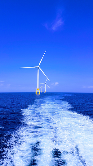 Block Island Wind Farm is the U.S.'s first commercial offshore wind farm