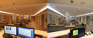 Flexible Lighting Evaluated in Mental Health Facility