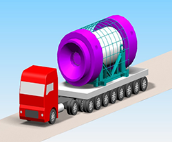 Trucks, Trains, Ships, and Cranes: Tracking Transportation Stress and Vibration