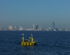 Buoy Makes a Splash off New Jersey Coast